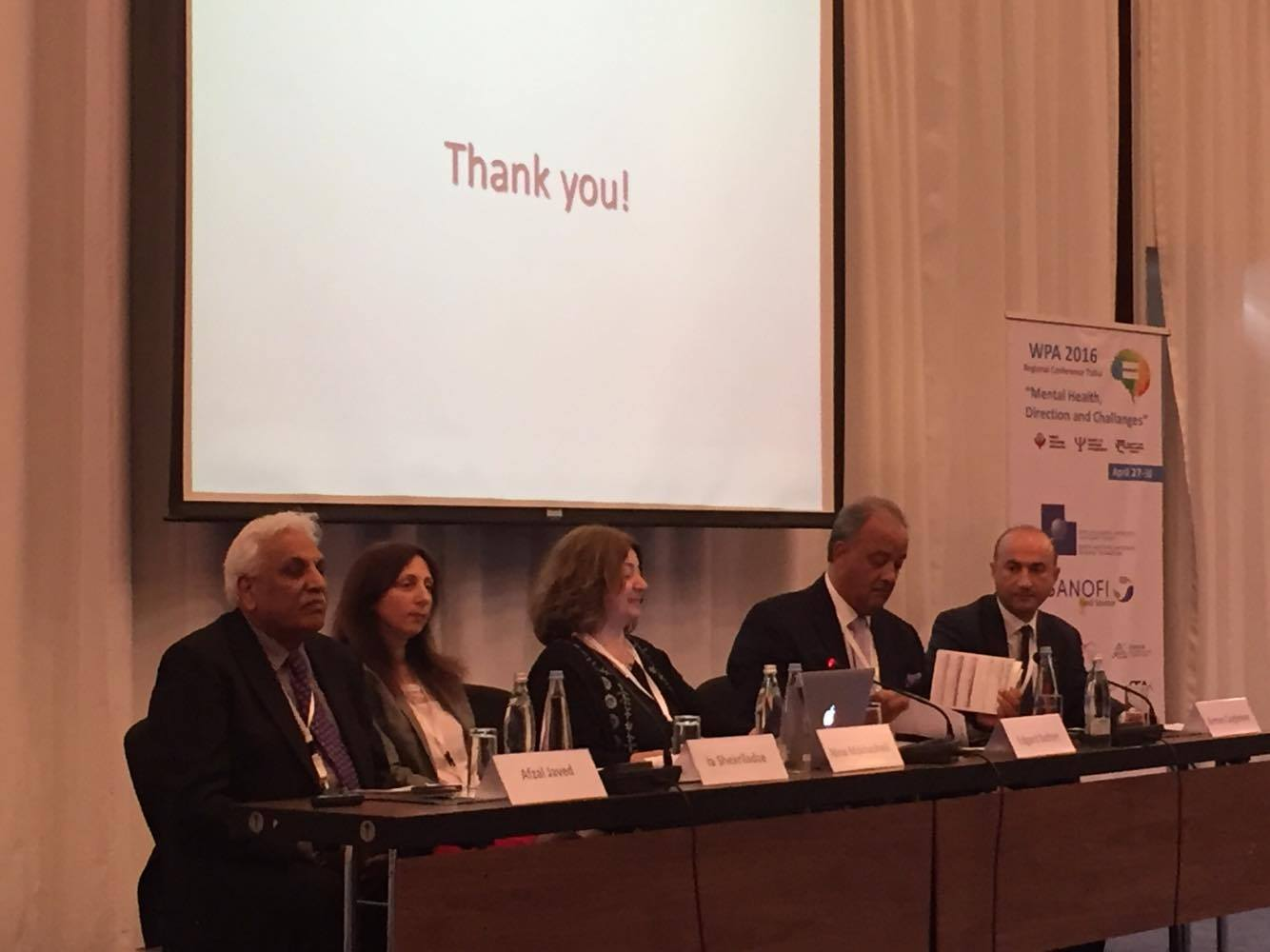 FAVL's Specialists Participated in Regional congress of World Psychiatric Association (WPA)